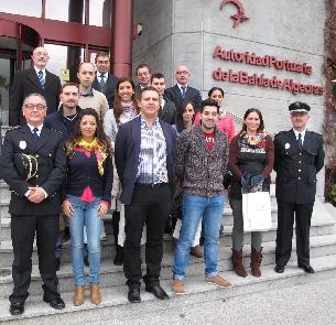 LA APBA ESTRENA DIEZ POLICíAS PORTUARIOS Y UNA ROTONDA EN ALGECIRAS