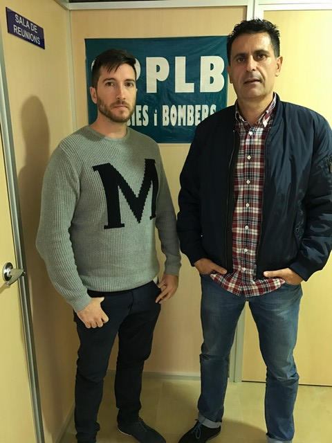 REUNION DE NUESTRO SECRETARIO NACIONAL DE POLICIA PORTUARIA CON LA DIRECTIVA DEL SPPLB