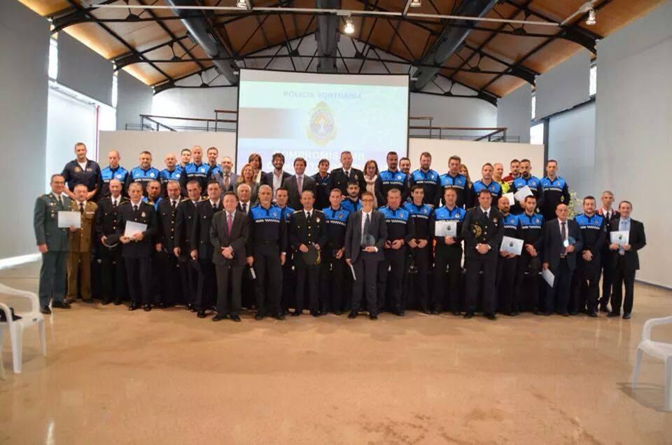 EL PORT DE TARRAGONA CELEBRA EL DÍA DE LA POLICÍA PORTUARIA POR TERCER AÑO CONSECUTIVO